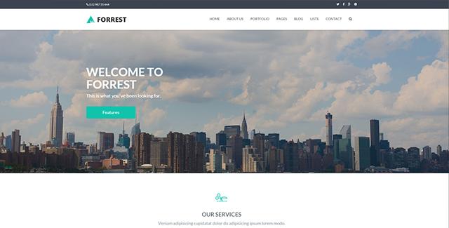Forrest - Multipurpose HTML Template