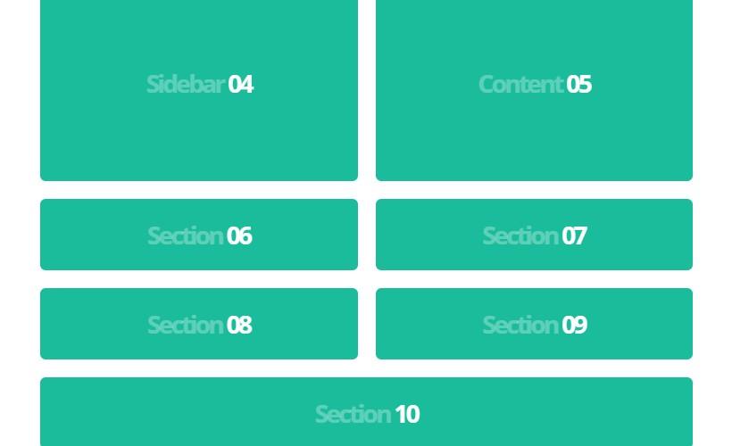 Flexiblegs: Flexible Grids System