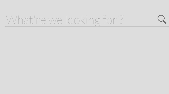 search form expandable animated code