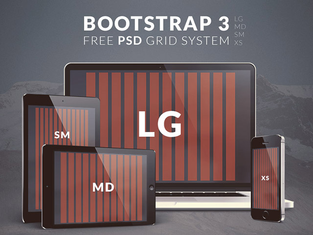 Bootstrap 3 grid system – PSD