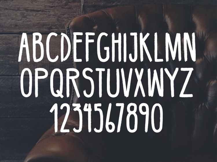 Handmade Hipster Font