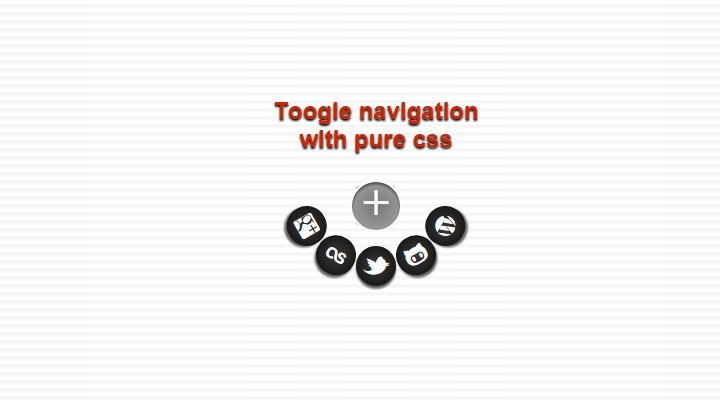 pure css toggle navigation flyout