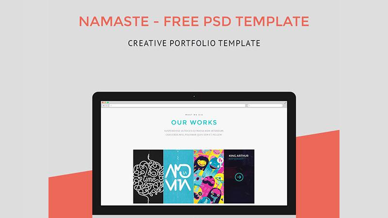 Namaste PSD Template