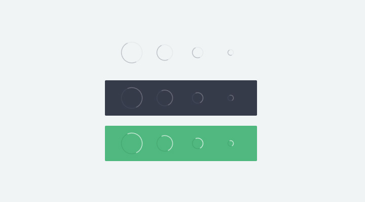 circle animated effect css3 open source
