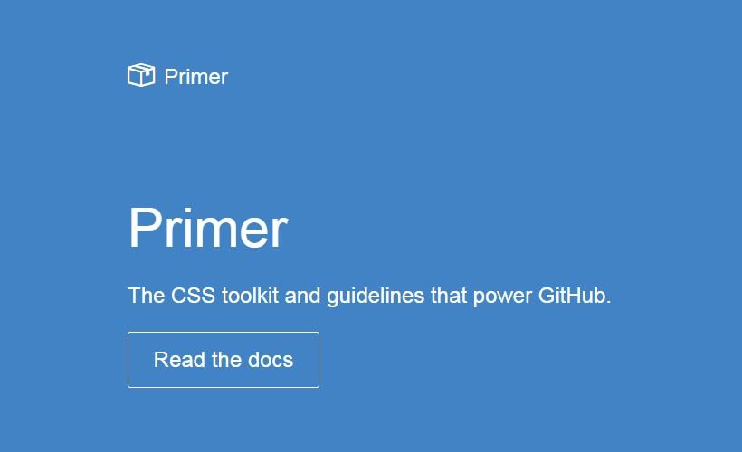 Primer: GitHub's Internal CSS Framework