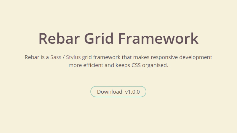 Rebar Grid Framework