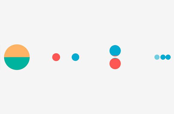 Flat preloaders set GIF