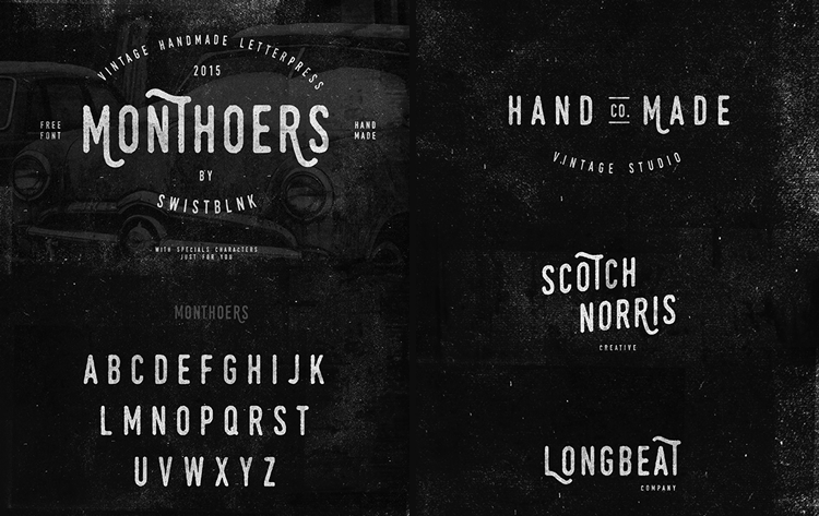 Monthoers Handmade Letterpress