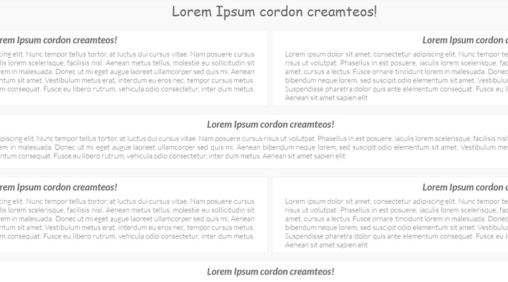 lazy loading content layout css3