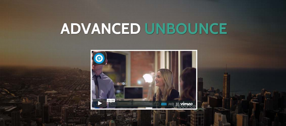 Booster - Unbounce Multipurpose Template