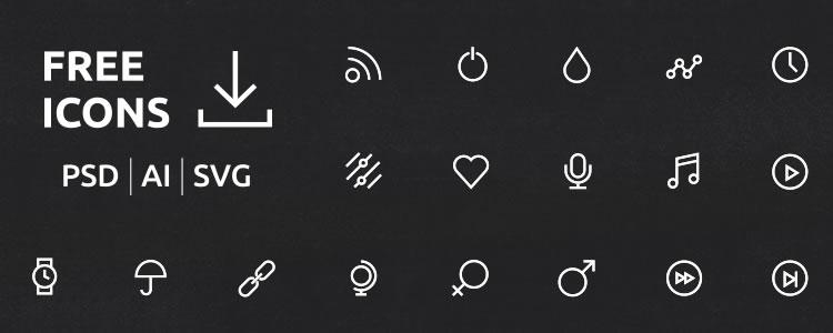 40 UI/UX Icons
