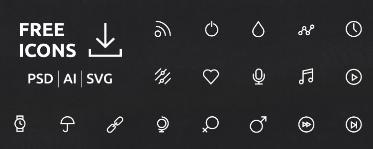 Free 50 Icon Sets