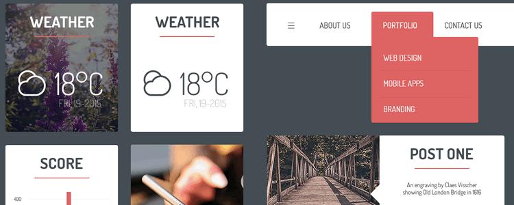 UI Kit Based on Bootstrap