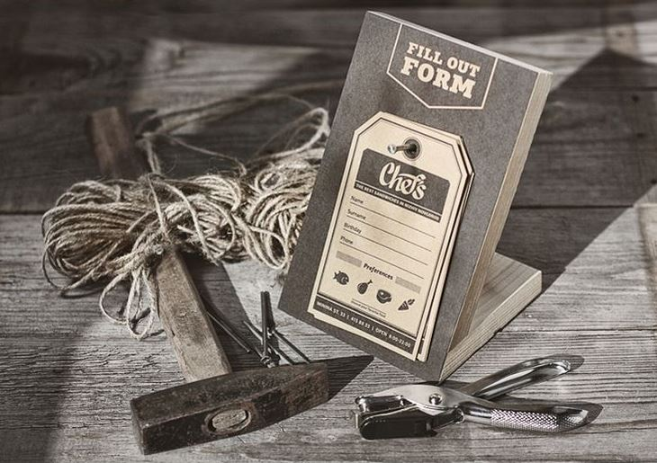 Chef's branding & packaging