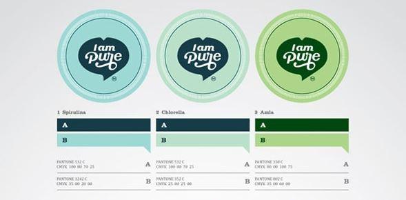 I am Pure Logo & Packagin