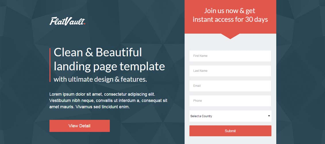 20 Extremely Effective Unbounce Landing Page Templates - iDevie