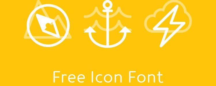 Icon-Works font free icon