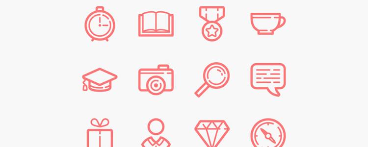 60 Line Icons