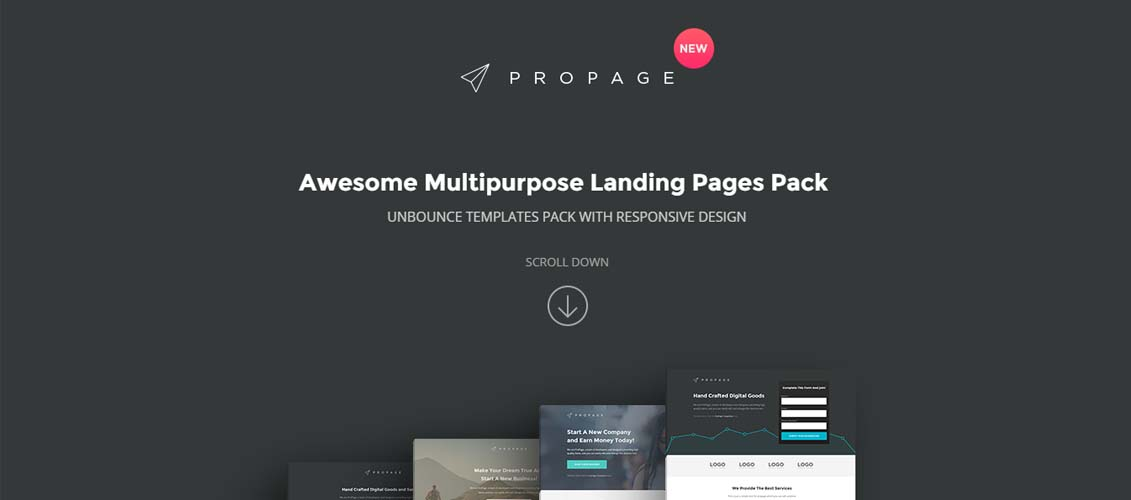 20 Extremely Effective Unbounce Landing Page Templates