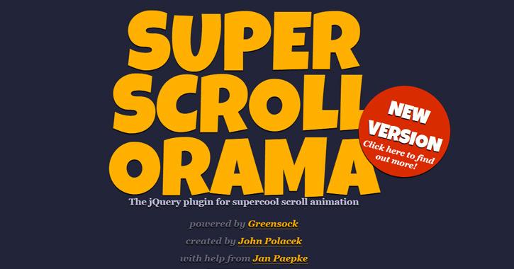 super scroll orama plugin library