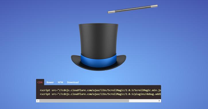 scrollmagic js javascript