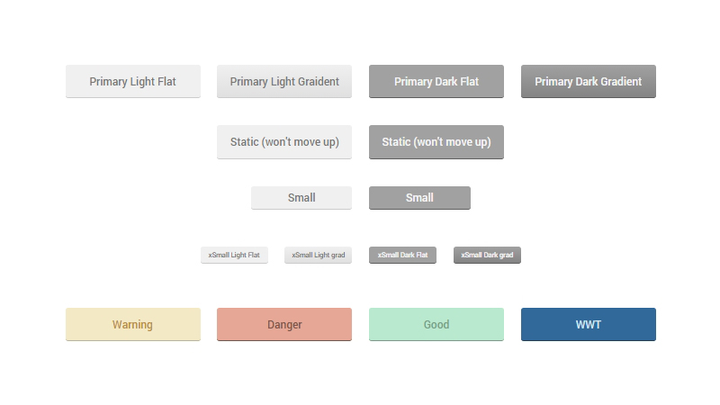 Beautifully Realistic CSS Buttons