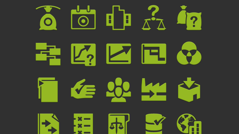 54K Editable Vector Android Icons