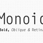 Fresh Free Font Of The Day : Monoid