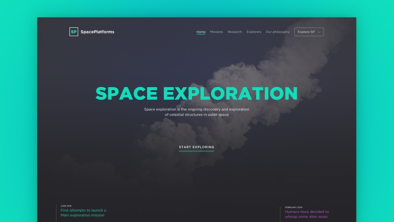 94 Beautiful Multi-style PSD Web Templates