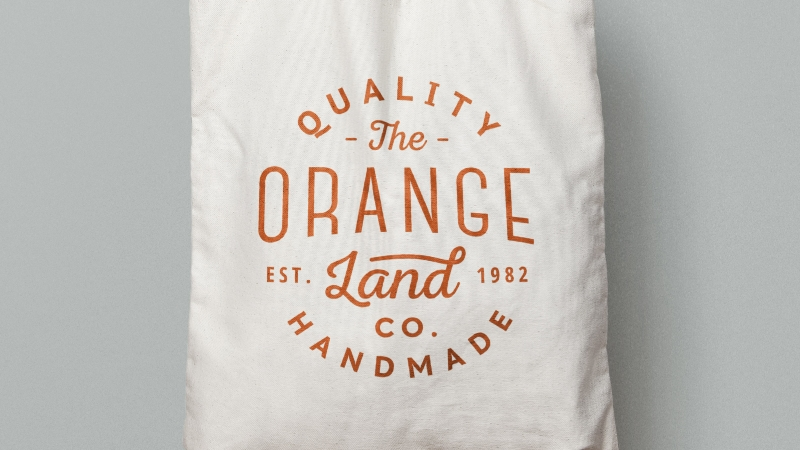 PSD Canvas Tote Bag Mockup