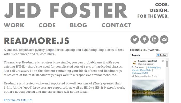 read more js open source