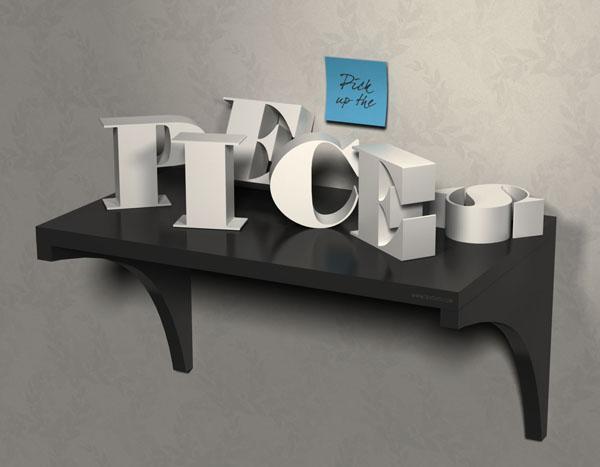 50 Best Text Effect Tutorials - 9