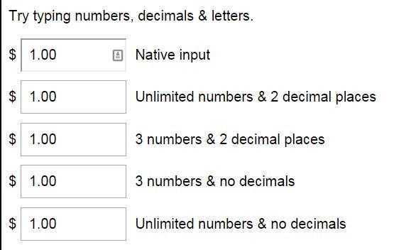jQuery-input-limit
