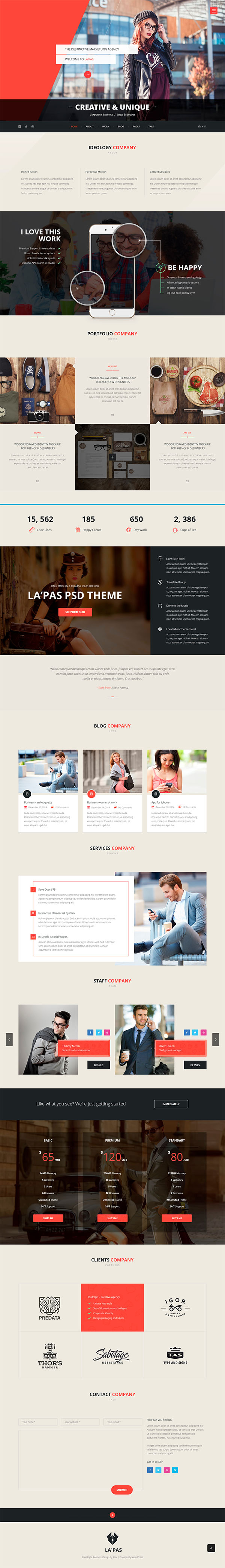 Lapas - Multi Purpose Html Template