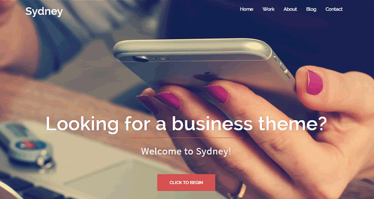 Sydney powerful business theme companies freelancers