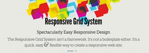 Responsive Grid System by Graham Miller