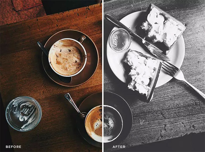 Food Photoshop Actions