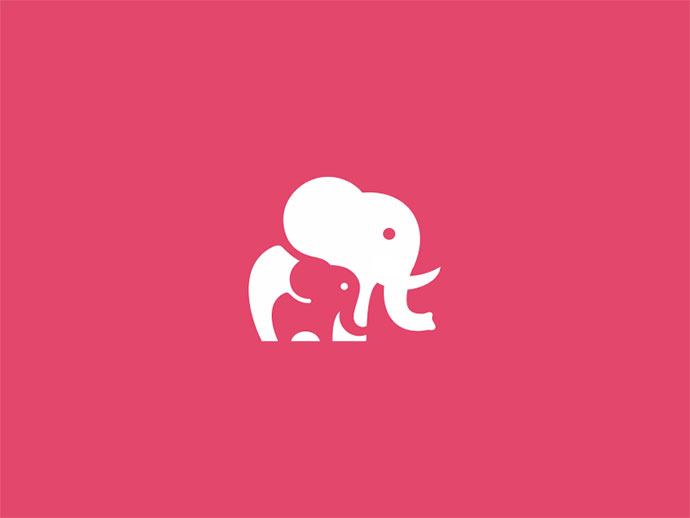 Unused Elephant Mark / Icon / Logo Design Concept