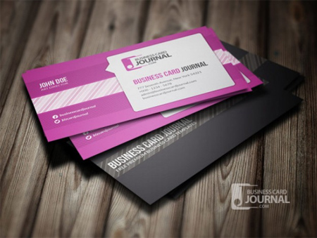 Purple-speech-bubble-business-card-template