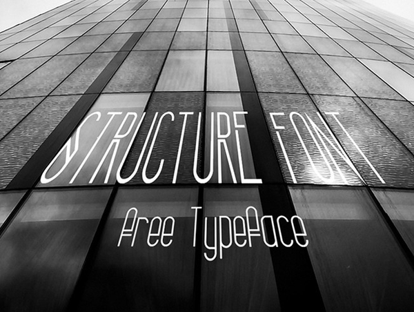 Structure-(Free-Font)