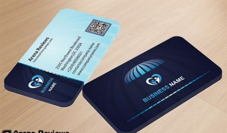 Corporate-business-card-in-blue-colors