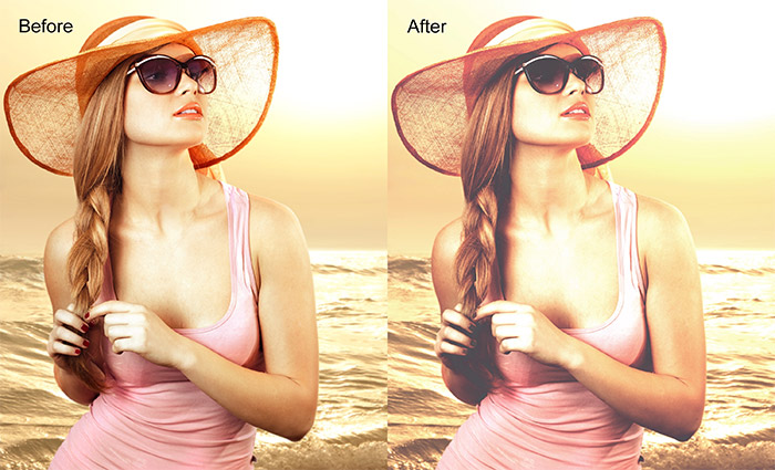 Vivid Matte Photoshop Action