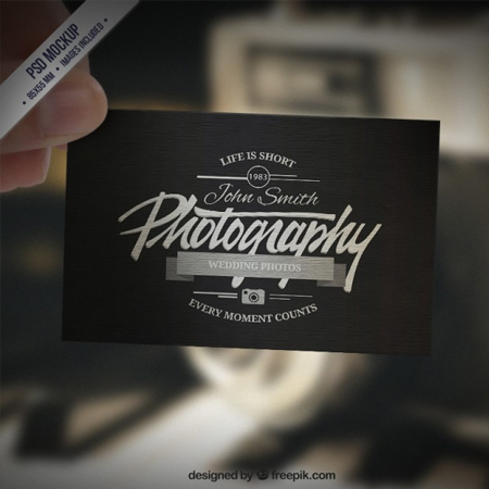 Business-card-mockup-in-retro-style