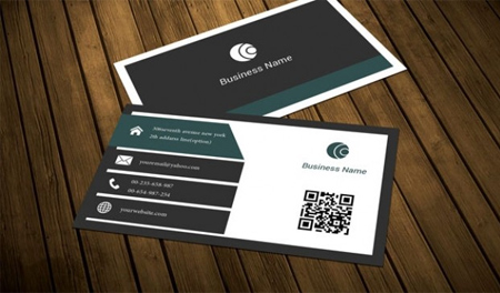 Dark-slate-business-card-template