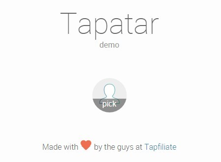 jQuery-tapatar