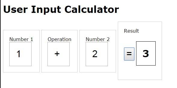 jQuery-user-input-calculator