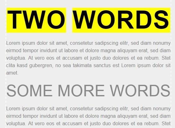 jQuery-full-width-headlines