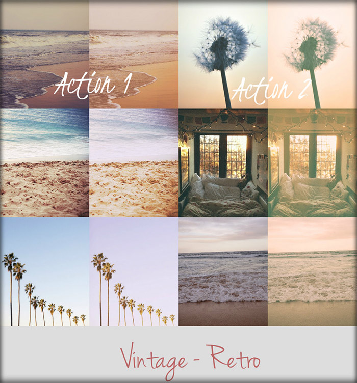 35 Fresh and Free Photoshop Actions - iDevie