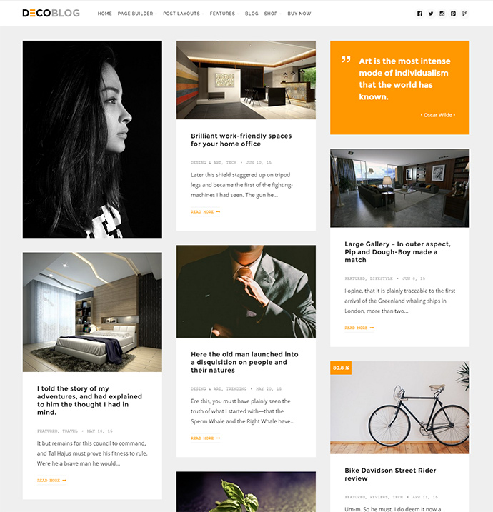 decoblog WordPress Themes