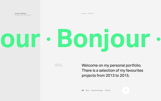 Inspiring Sites of the Week No. 103